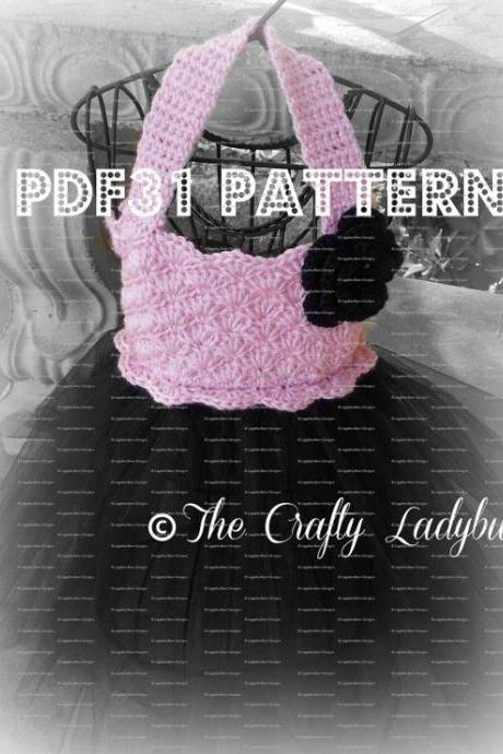 Crochet and tulle tutu dress pattern - PDF31
