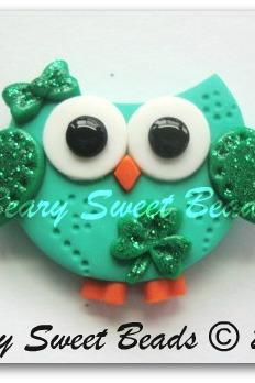 St. Patty's day Owl ( NO HOLES )
