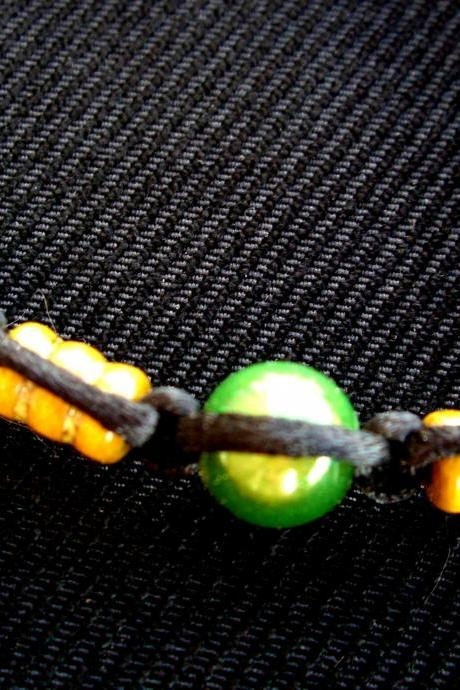 Bamboo Hemp Bracelet Green Miracle