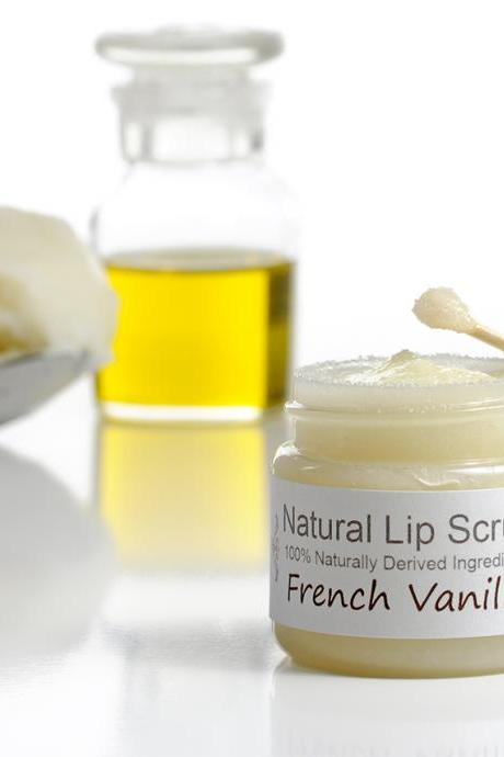 Lip Scrub Kit - Sugar lip scrub - Lip polish - Dry lips treatment - Natural lip scrub