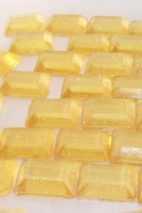 NATURAL LEMON Hard Candy, Made with Essential Oils