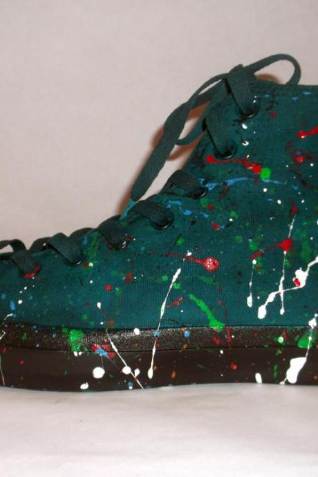 Custom made - Hand Painted Sneakers