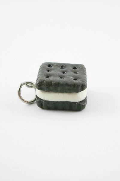 Miniature Charm Cookie Sandwich Square Vanilla Icing