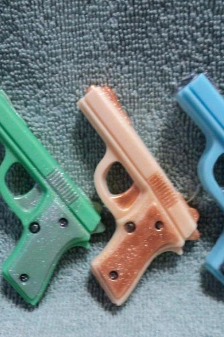 Mini Gun Soap Set - Polo Blue,Cool Water,Old Spice