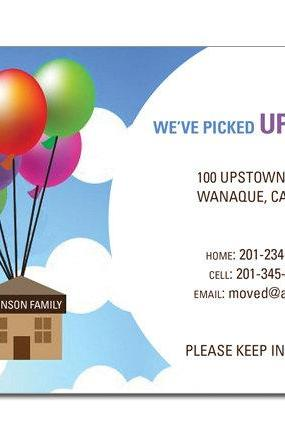Moving Up – Moving Announcement Invitation
