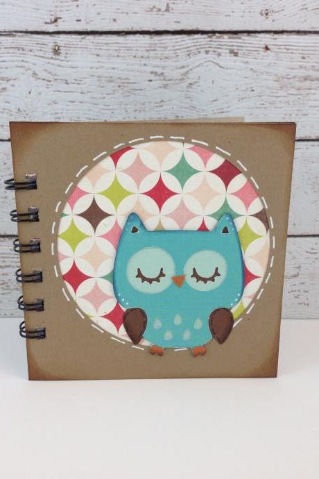 Owl Mini Notebook