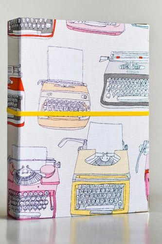 Typewriter Binder Folder with 2 refill packs
