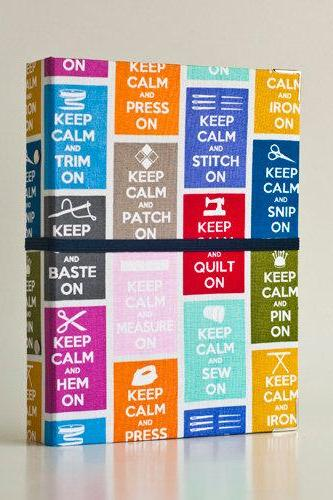 Keep Calm Binder Folders with 2 refill packs