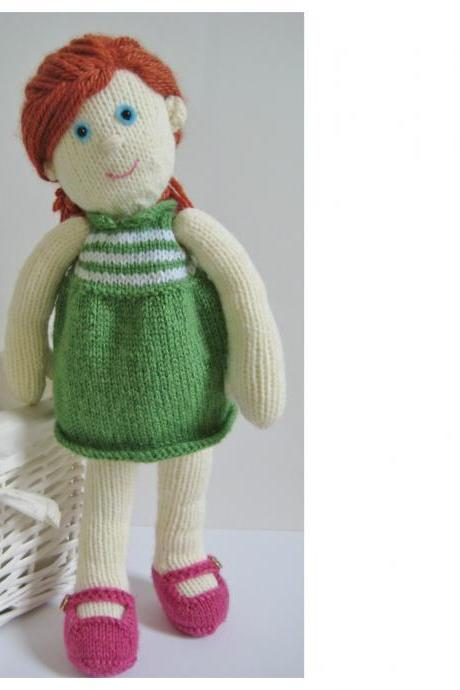 Lily Doll toy knitting patterns