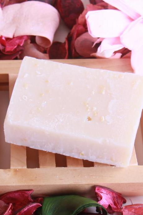 Dr Pasha Handmade Shea Butter Rose Facial Organic Essential Oil Soap Cleansers 100g