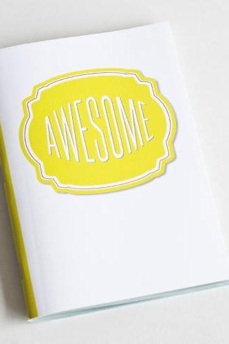 Awesome Notebook / Journal - Compliment Series