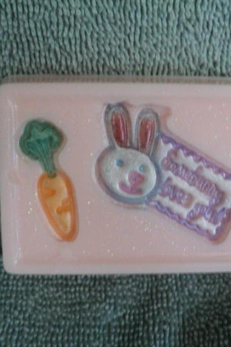 Soap - Some Bunny Loves You Soap -Cotton Candy Scent