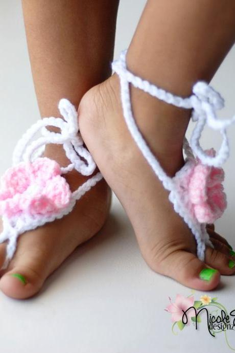 Infant and Toddler Barefoot Sandals