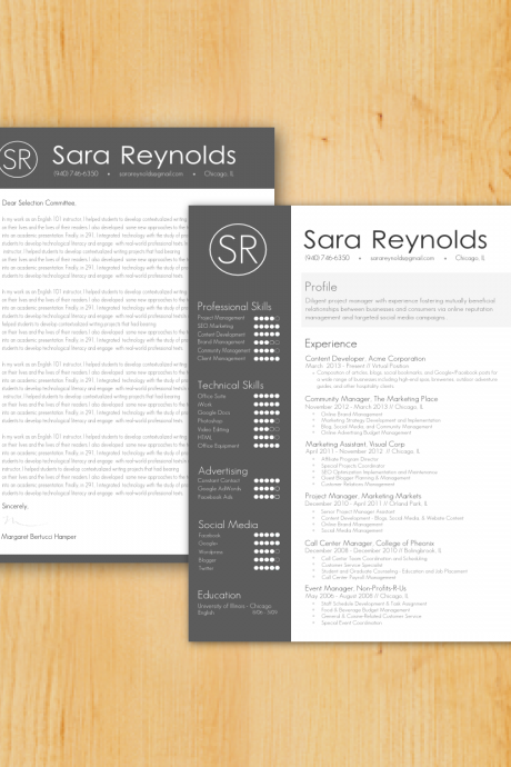 Custom Resume & Cover Letter Writing and Design