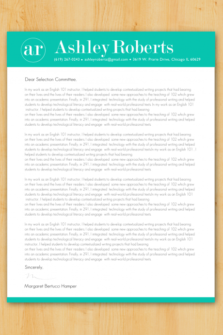 Custom Cover Letter Writing & Design - Job Application Letter Writing