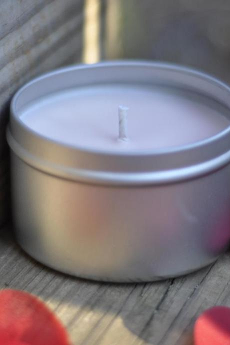 WIld Berry Mousse Soy Candle 8 ounce tin, great way to spice up your home for spring.