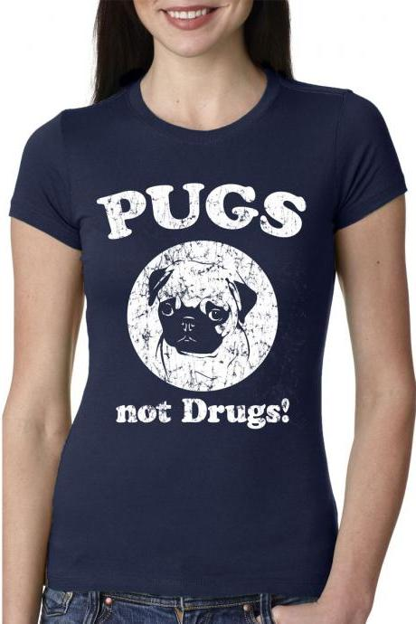 Pug T Shirt funny puppy shirt sizes S-4XL