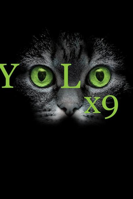 Men's yolo x9 Black Tee Available XL, 2XL