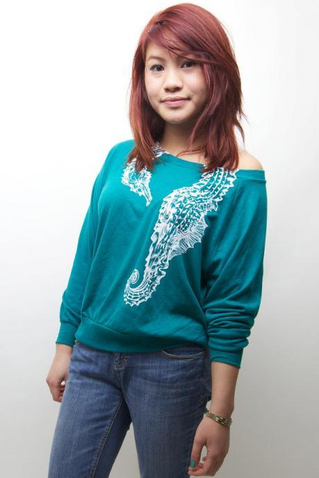 American Apparel, Pullover, Seahorse Hug Sweater, Available S-L