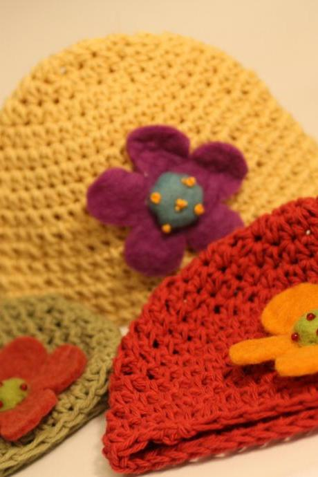 Adorable Baby Beanie, Eco Friendly, Photo Prop, Super Soft, matching sets available, custom color