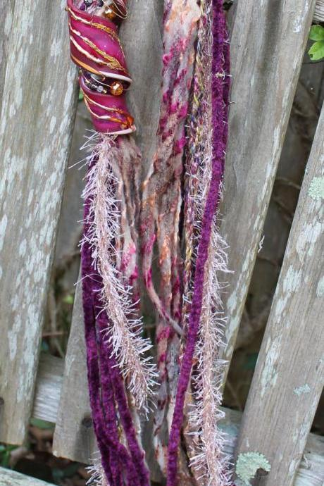 Cranberry Marsh - 72' Mixed Fiber Neck Wrap/Twist
