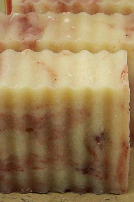 Brown Sugar & Fig scented CP Shea Butter Olive Oil Soap, 3.5-4oz Bar