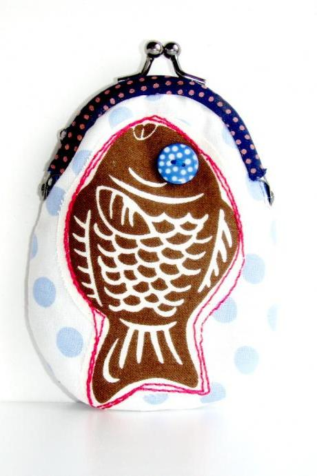 Fish coin purse