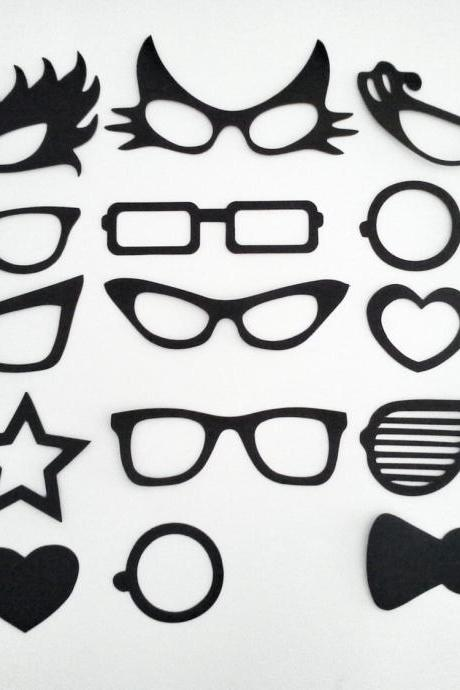 Spectacles Photo Prop (15 pcs)