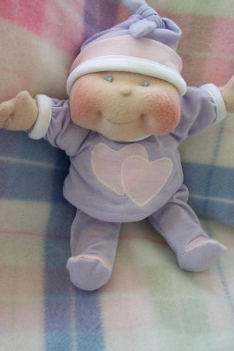 Soft Cloth Baby Doll, 10' Dinky Baby Pattern - TOMMER