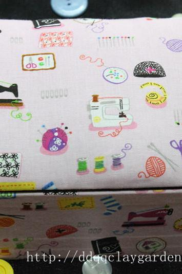 Sewing Set in the House with Pink~