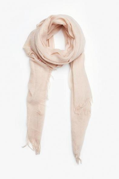 Handmade Cotton Light Pink Scarf-Fashion-Womens Accessory