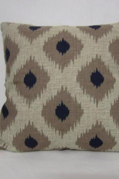 Decorative Linen Pillow Cushion Cover Geometry Dot Pillow Decor Housewares 18'
