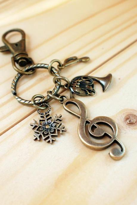 Charm Keychain, Happy Music