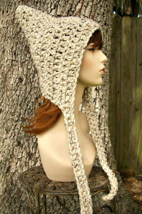 Witchy Pixie Crochet Hat