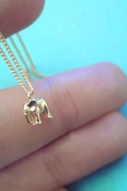 Cute, Skull, goldfilled/sterling silver superfine sturdy, chain, necklace