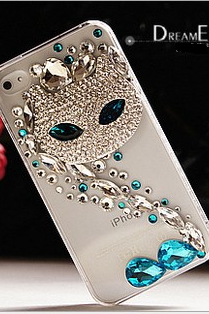 iphone 4/4s/5 phone case cat
