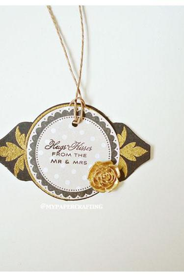 Round Wedding Tags