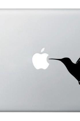 Fly Bird vinyl sticker, decal for macbook, macbook pro, powerbook, laptops