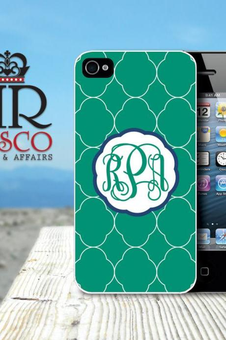 iPhone 4 Case, iPhone 4s Case, Personalized iPhone Case, Monogram iPhone Case, Green iPhone Case (81)