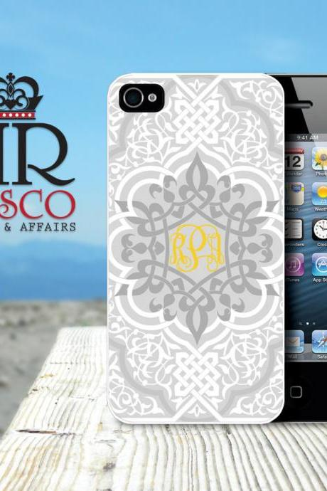 iPhone 4 Case, iPhone 4s Case, Personalized iPhone Case, Monogram iPhone Case, Ornate iPhone Case (80)