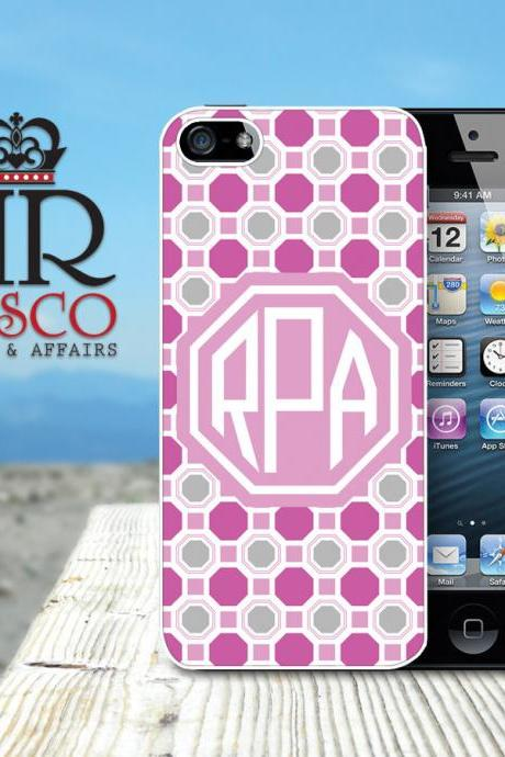 Monogrammed iPhone Case, Personalized iPhone Case, iPhone 5 Case, Custom iPhone Case (76)
