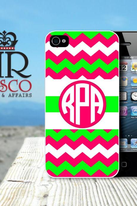 Personalized iPhone Case, iPhone 4 Case, iPhone 4s Case, Custom iPhone Case, Chevron iPhone Case (70)
