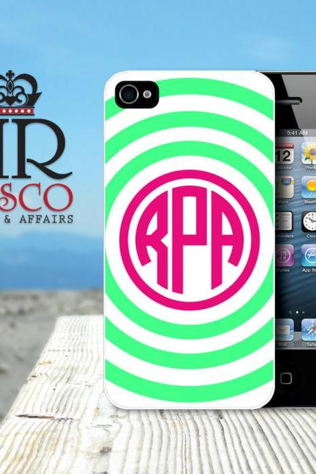 Personalized iPhone Case, iPhone 4 Case, iPhone 4s Case, Custom iPhone Case, Stripe iPhone Case (69)