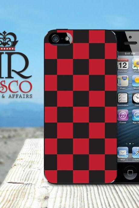 iPhone 5 Case, iPhone Case, Custom iPhone Case, Checker iPhone Case