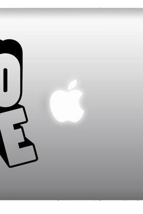 LOVE Macbook Stickers, Mac Decals for Macbook Pro,Aair, IPad2 - Buy 2 get 1 Free