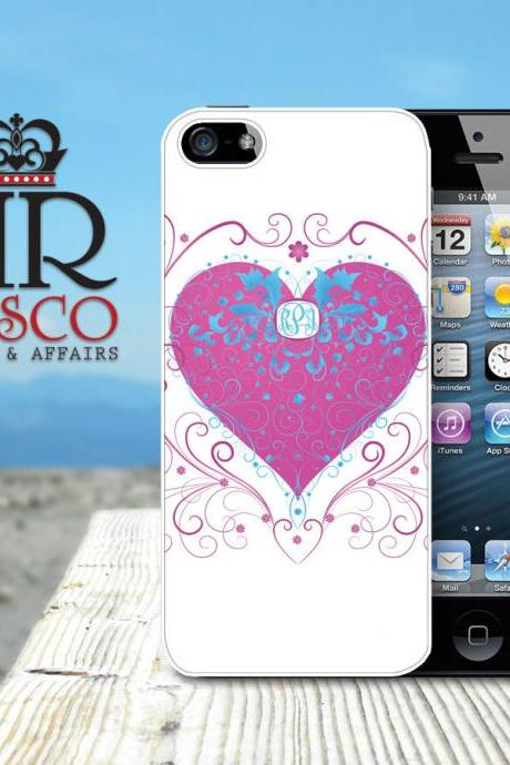 iPhone 5 Case, Personalized iPhone Case. Custom iPhone Case, Heart iPhone Case (59)