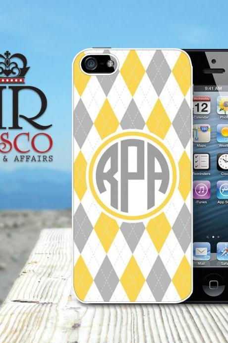 iPhone 5 Case, Personalized iPhone Case, Custom iPhone Case, Argyle iPhone Case (66)