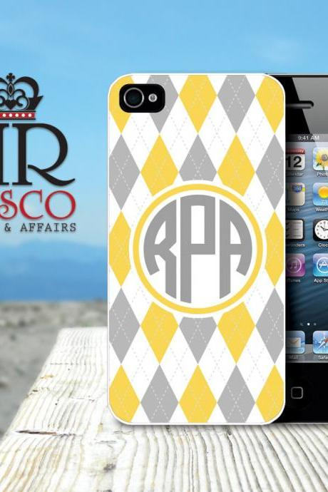 iPhone 4 Case, iPhone 4s Case, Custom iPhone Case, Argyle iPhone Case (66)