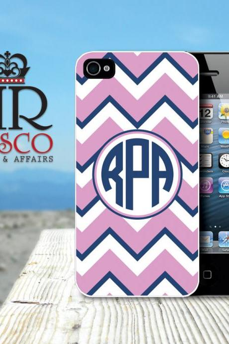 iPhone 4 Case, iPhone 4s Case, Monogram iPhone Case, Chevron iPhone Case (60)