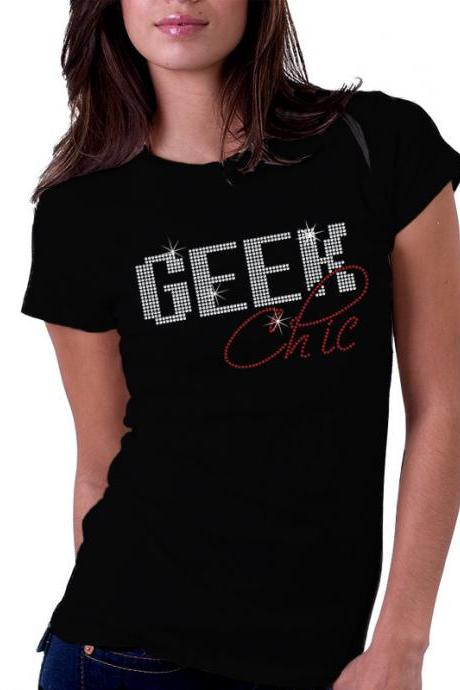 Geek Chic Rhinestone Shirt